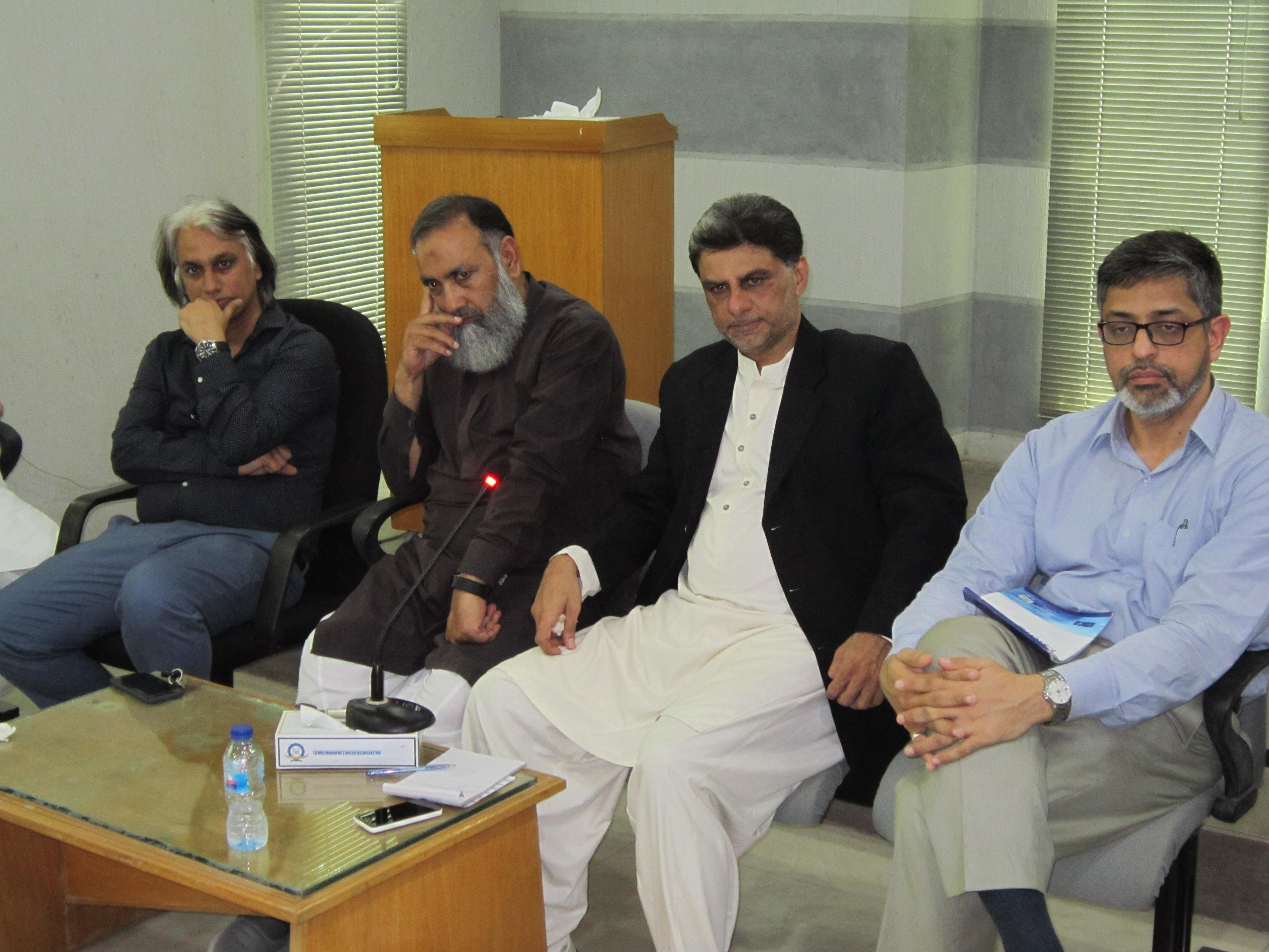 MEETING WITH REGARD TO WITHDRAWAL OF ZERO-RATED REGIME SRO 1125(I)/2011