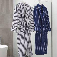 Yarn Dyed Stripe Bathrobe