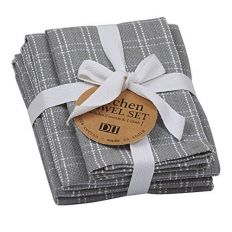 Cotton Ribbon Tied Towels