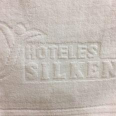 Jacquard Logo Towels