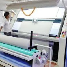 Fabrics Inspection Machine.
