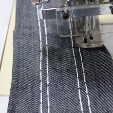 Stitching Setup- Double Needle