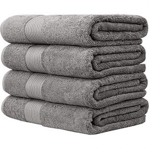 Bliss Luxury Combed Cotton Bath Towels