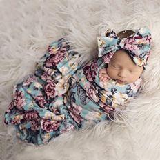 Printed Baby Receiving Blankets