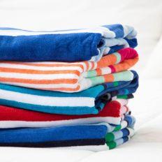 Velour Stripe Towel