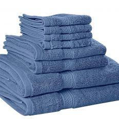 8 Piece Towel Set 600 GSM
