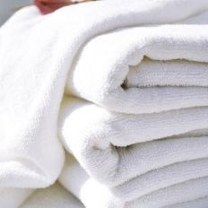 Bleached Towels