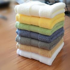 Solid Dyed Towels