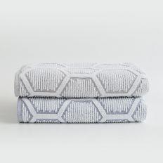 Crepe Jacquard Towel